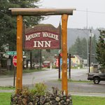 Motel sign on highway 101, Quilcene, Washington