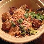 Delicious meatballs
