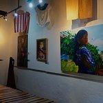 An exhibit full of beautiful paintings