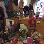 Fairy doors and June Helwig necklaces!