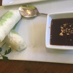 Made to Order Fresh Veggie Spring Rolls w/tamarind dipping sauce