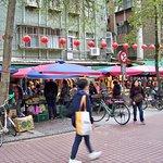 Shuanglian Day market is close