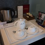 Complimentary hot beverages.
