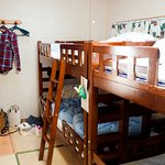 bunk beds in shared rooms