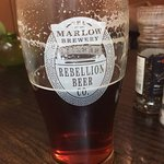 Great pint of Rebellion IPA. Very well served.
