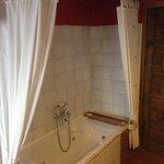 Bañera de hidromasaje habitación de la noguera