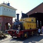 Einer der Eisenbahnschuppen