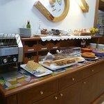 Adequate breakfast buffet