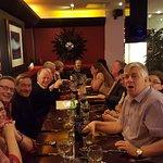 The NGA crew enjoying themselves