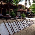 Saisonale Befestigung des Strandes