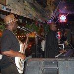 Hueys with live Soul music