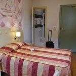 Room quite good, slightly tired