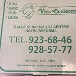Cheap. Really tasty and close to zocalo. Huge massive pizzas. Yummy!!