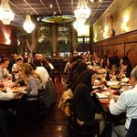 Our welcome dinner with international students