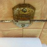 détail de la salle de bains