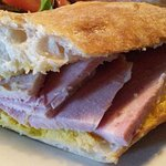 The Ham in an Artisan Baguette was great. A bread you could actually get your teeth into!