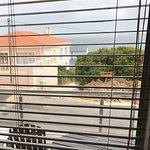 Balkon des nachbarzimmers