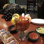 Gorgeous prawn cocktail at great Mexican restaurant