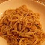 Spaghettoni verdure e gamberettì