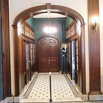 Hallway to bar