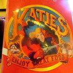 Menu, Katie's Country Kitchen, Minden, Nevada
