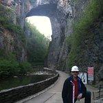 Safety is important when walking under that bridge !