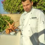 Chef shaaban Fekry (palace port ghalib hotel in marsa alam Red sea Egypt)