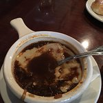 The excellent French Onion Soup