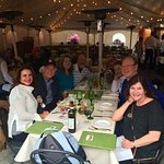 dining outdoors at the Telluride Film Festival