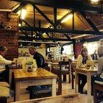 Pamphill dairy restaurant interior