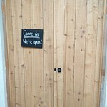 Stephen Pearce Shop and Cafe - The doors to lunch
