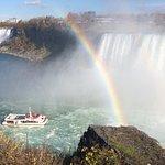Rainbows abound at Niagara Falls