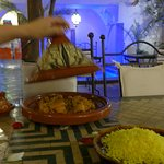 Welcome dinner - chicken tagine