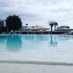 Una parte de la piscina..