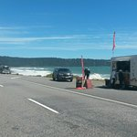 Bruce Bay Coffee Cart beside SHW6 halfway between Fox Glacier and Haast