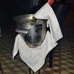 Nuestra botella de vino para celebrar