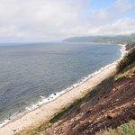 Seashore and bluff