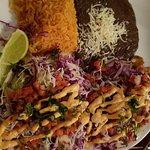 Fish tacos were delicious!