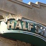 Johnny's Half Shell- exterior sign