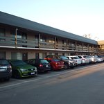 Ample parking by your room