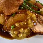 roast crackling pork