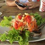Delicious Thaispice Papayasalad