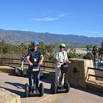 Lookout from University campus - our only good segway photo