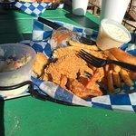 Fried catfish n shrimp ...yummy
