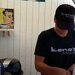 Kono's Cafe Coffee Patio behind restaurant in San Diego