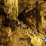 Wild Caving Lost World Caverns - Start of the tour