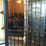The original bank vault room that you can dine in.