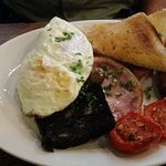 Full English with home made black pudding