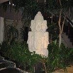 Statue in Reception