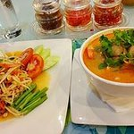 dinner at Orange restaurant, beside hotel